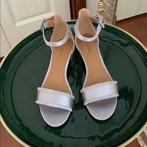 14th & Union Ankle Strap Fringe Sandal